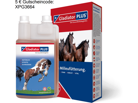 Gladiator Plus Pferd 1 Liter