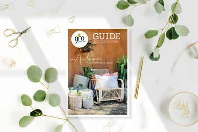 GRO Autumn 2021 Magazine - The Best Time To Plant