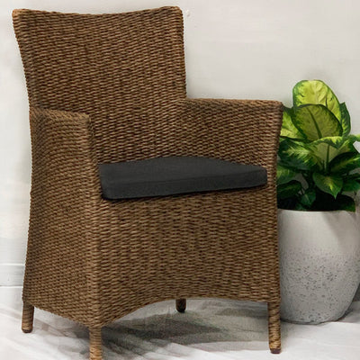 Maize Chair Coffee - Gro Urban Oasis