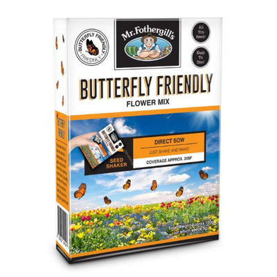 Butterfly Friendly Flowers Seed Shaker - Gro Urban Oasis
