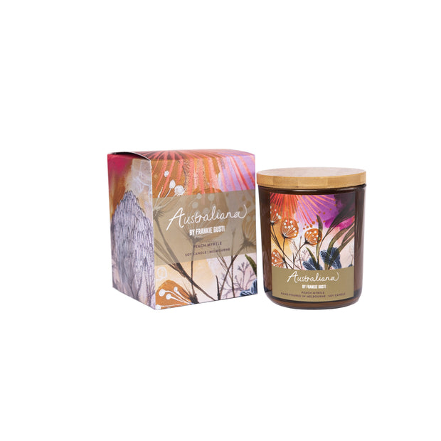Peach Myrtle Candle - Gro Urban Oasis