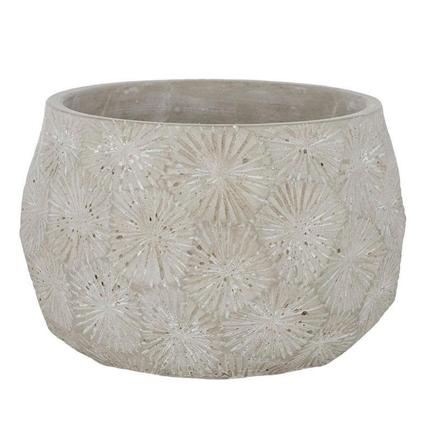 Harlow Cement Pot 21x14cm in Grey - Gro Urban Oasis
