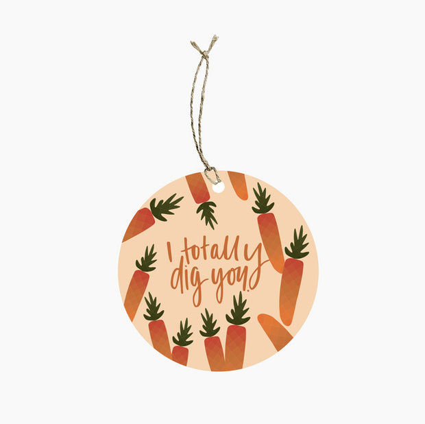 Carrot Seeds Gift Tag - Gro Urban Oasis