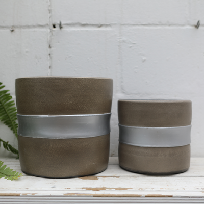 Stage Pot Grey - Gro Urban Oasis