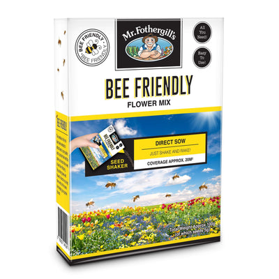 Bee Friendly Flowers Seed Shaker - Gro Urban Oasis
