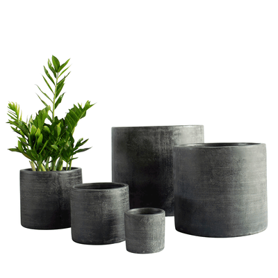 Taiko Pot Carbon - Gro Urban Oasis
