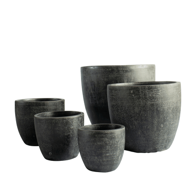 Weft Pot Carbon - Gro Urban Oasis