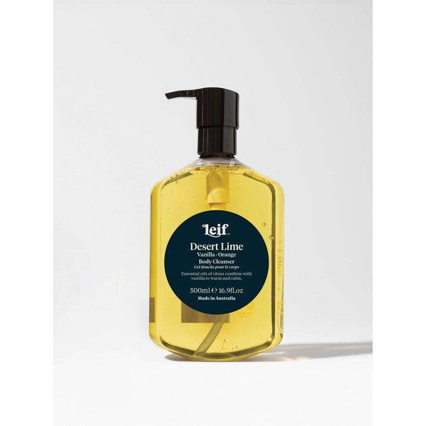 Leif Body Cleanser 500ml Desert Lime - Gro Urban Oasis
