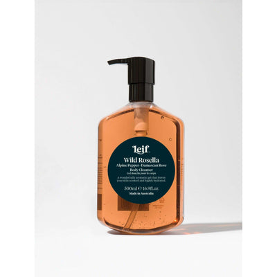 Leif Body Cleanser 500ml Wild Rosella - Gro Urban Oasis