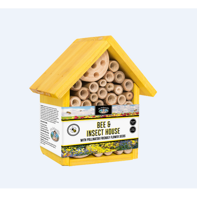 Bee House Yellow - Gro Urban Oasis