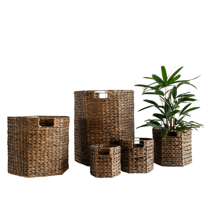 Nito Basket Chocolate - Gro Urban Oasis
