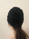 Black Hair Turban