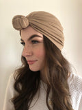 Khaki Hair Turban