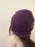 Purple Hair Turban
