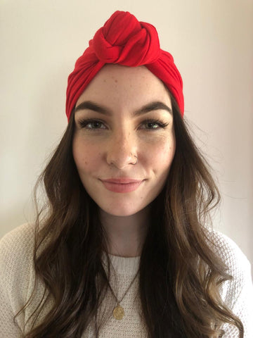 Red Hair Turban