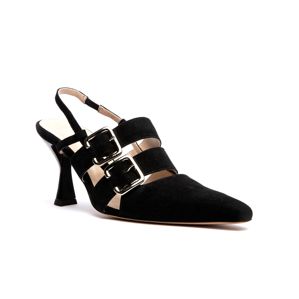 Niek Pump Black Suede