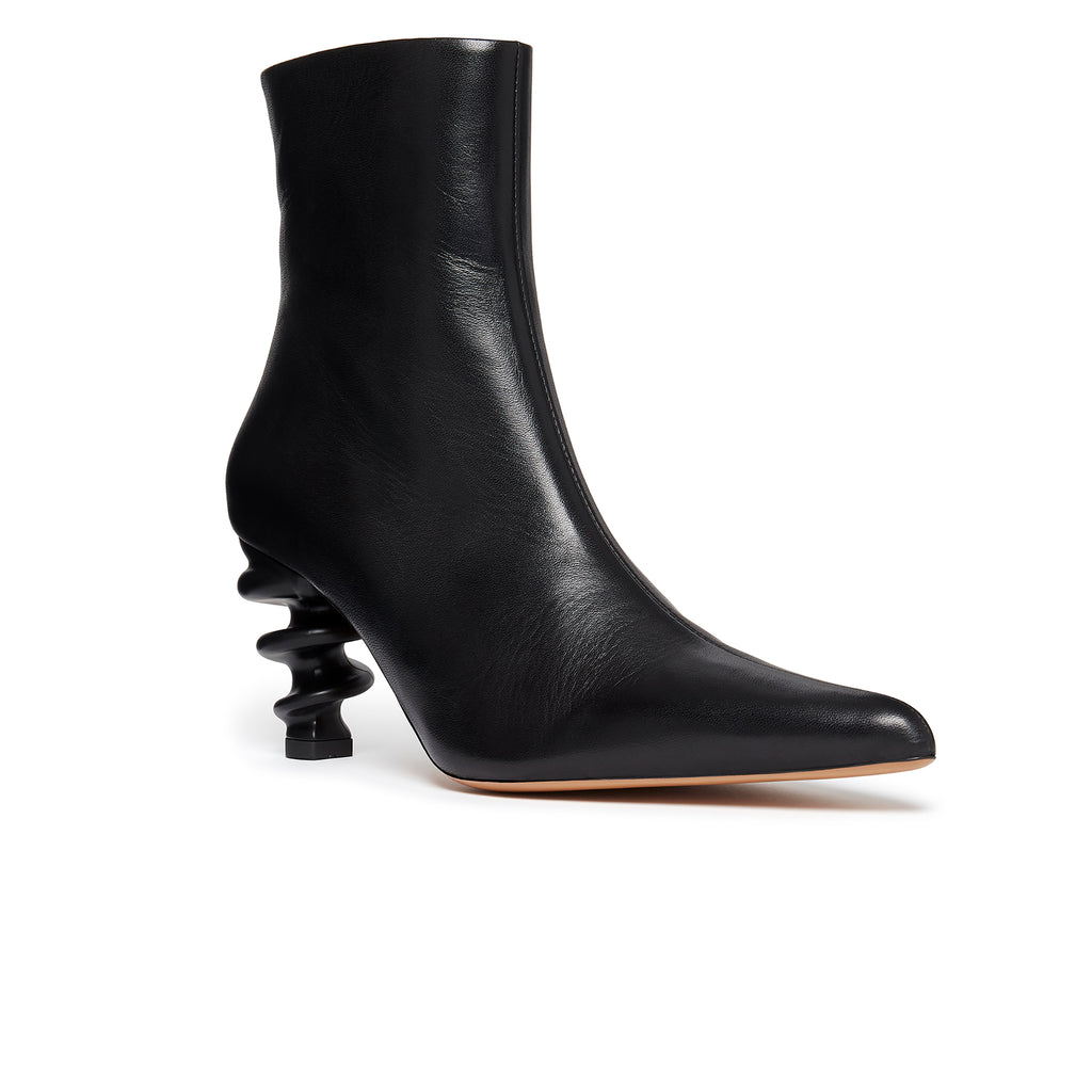Island Boot Black Front