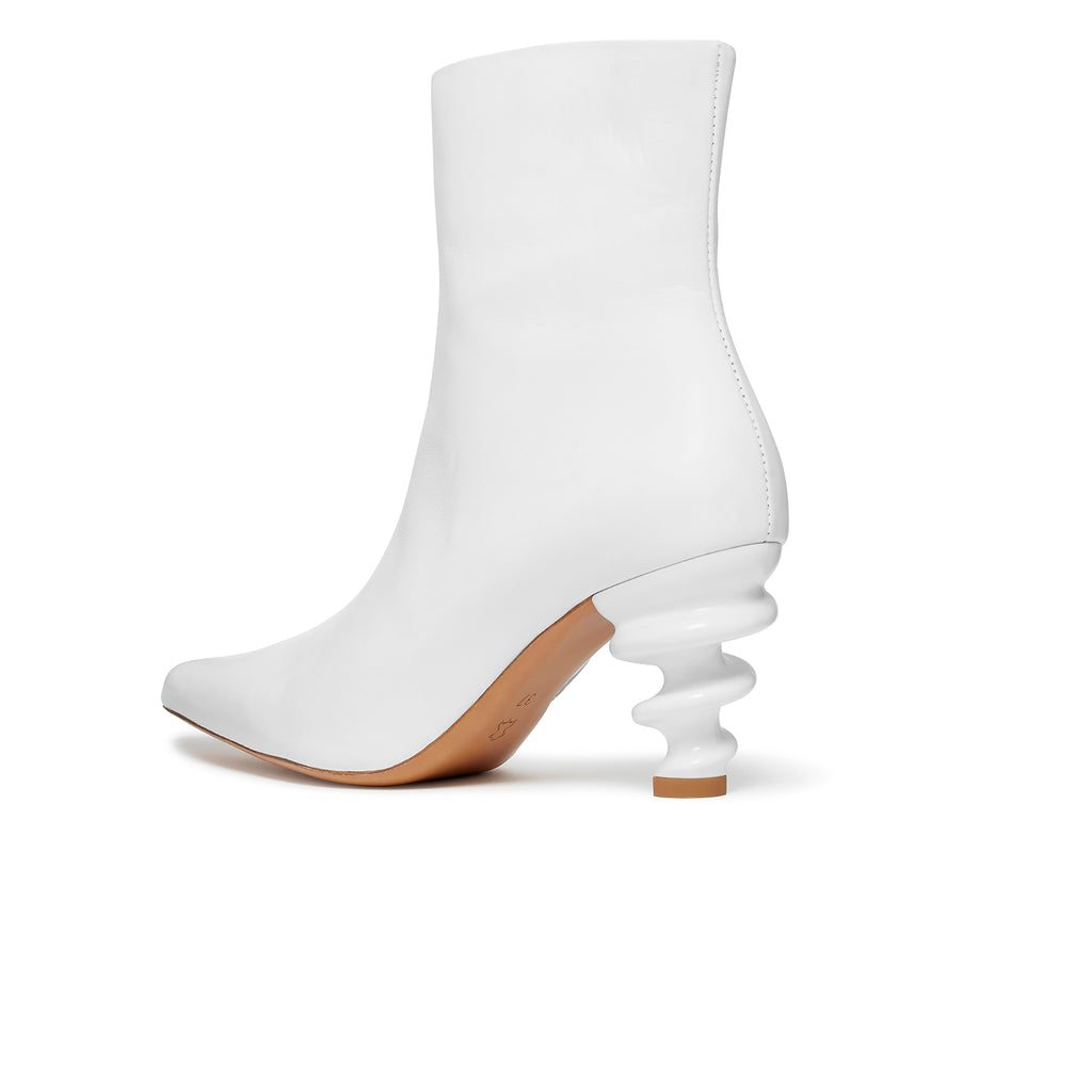 Island Boot White Back