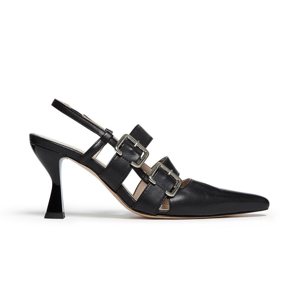 Niek Pump Black
