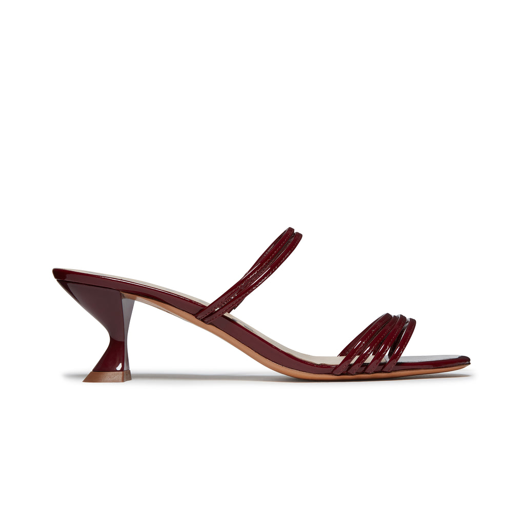 Kalda Simon Mini Sandal Burgundy side