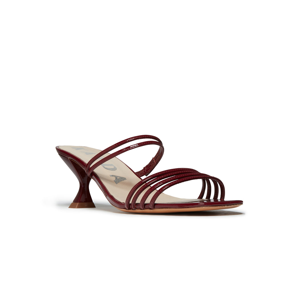 Simon Mini Sandal Burgundy