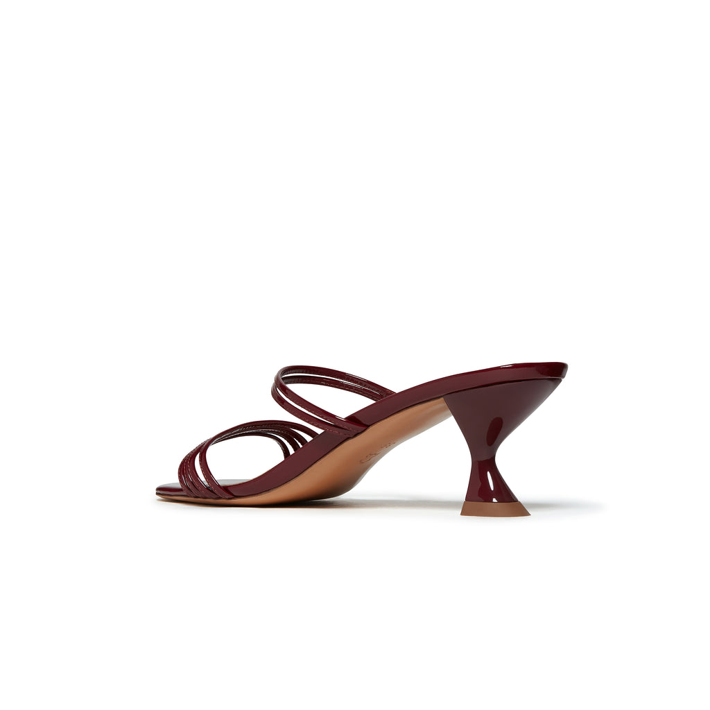 Kalda Simon Mini Sandal Burgundy back