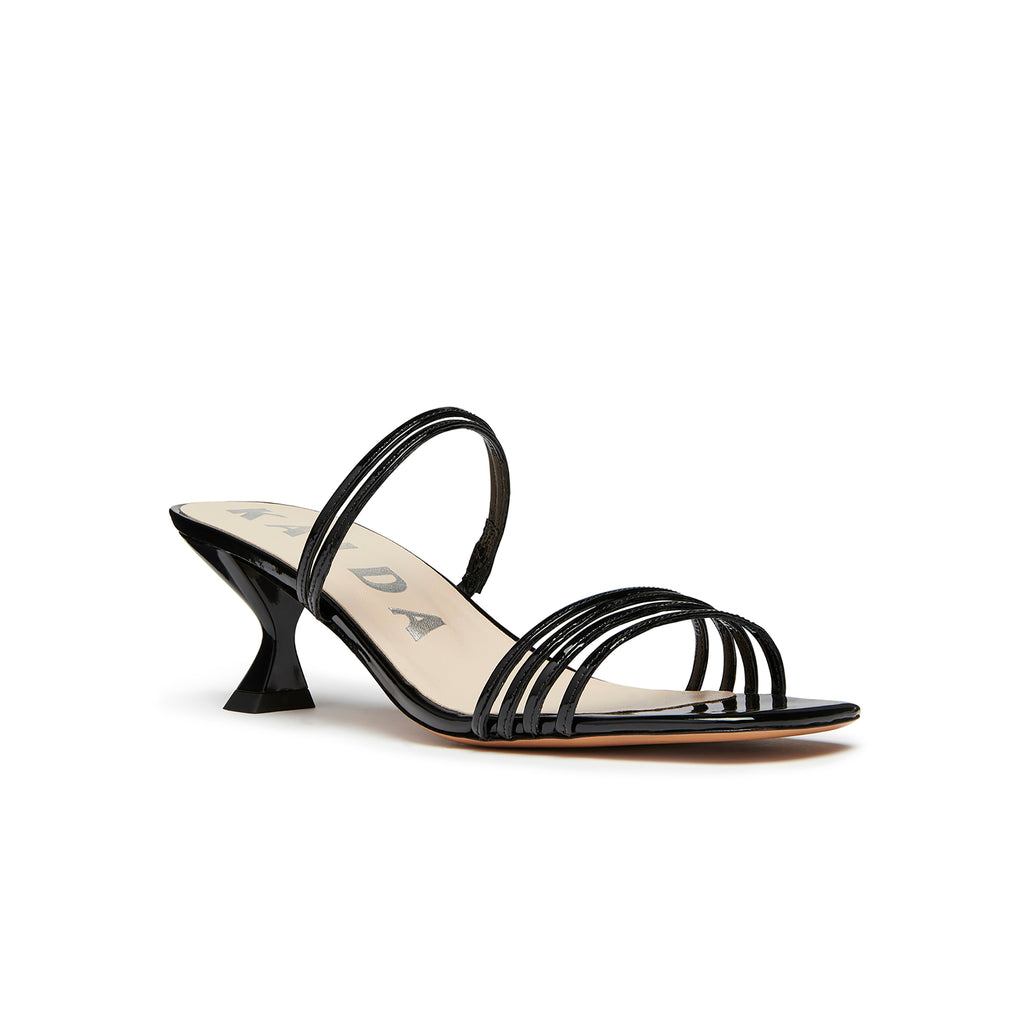 Simon Mini Sandal Black Front