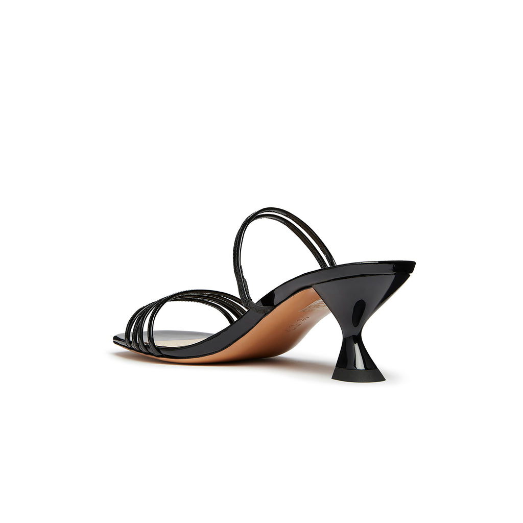 Simon Mini Sandal Black