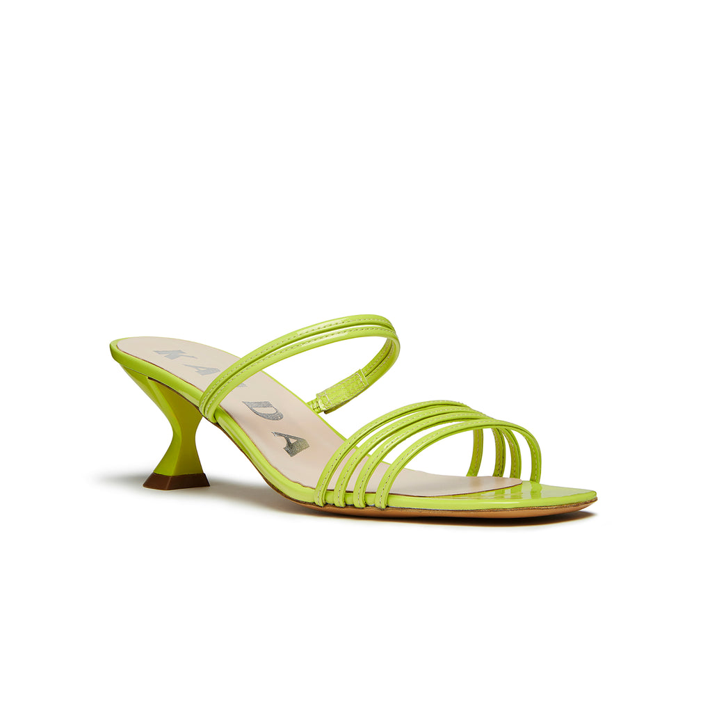 Kalda Simon Mini Sandal Green front