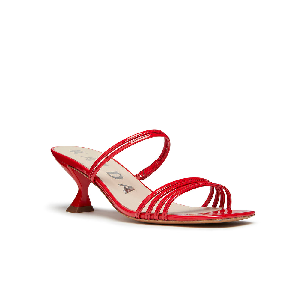 Simon Mini Sandal Red