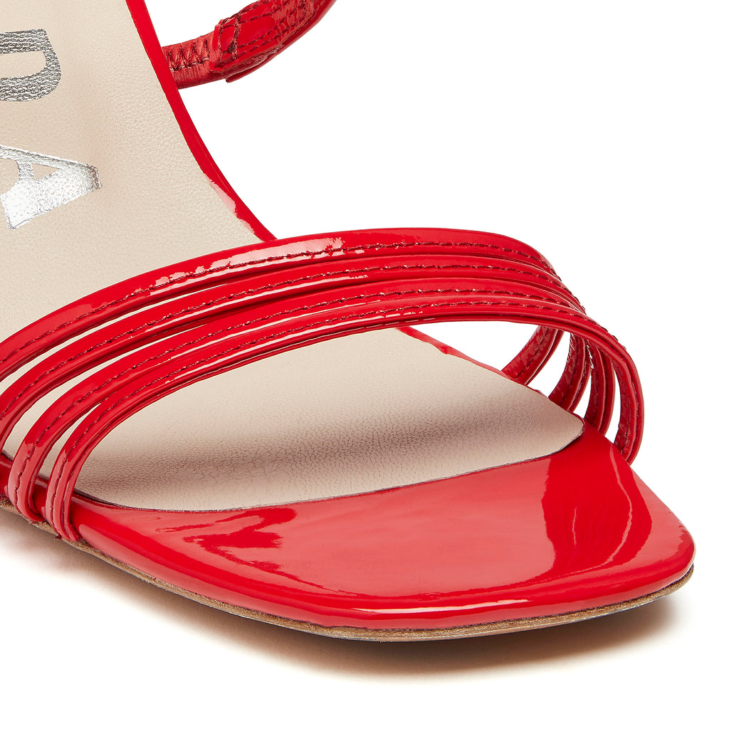 Simon Mini Sandal Red Detail