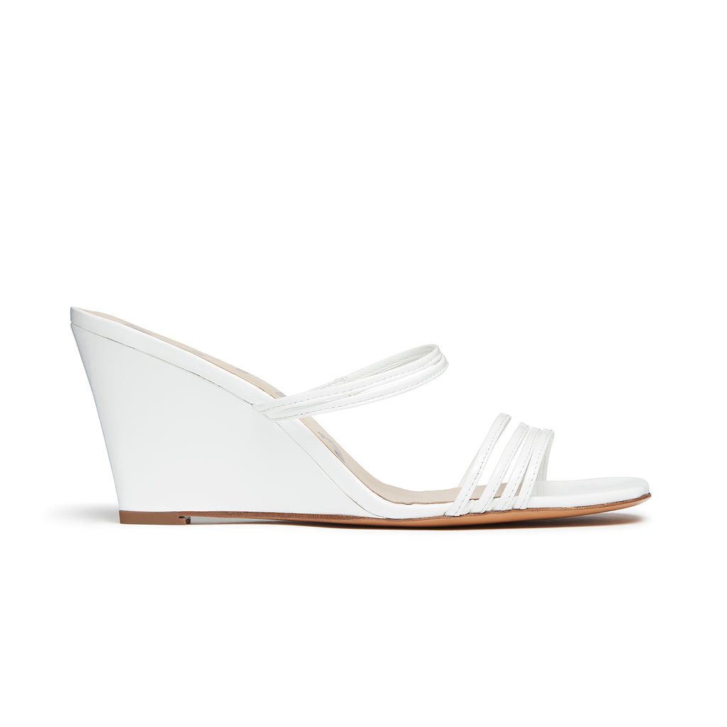 Kalda Simon Wedge White side