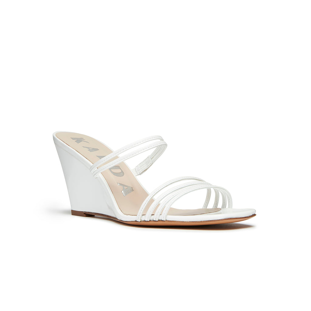 Kalda Simon Wedge White front