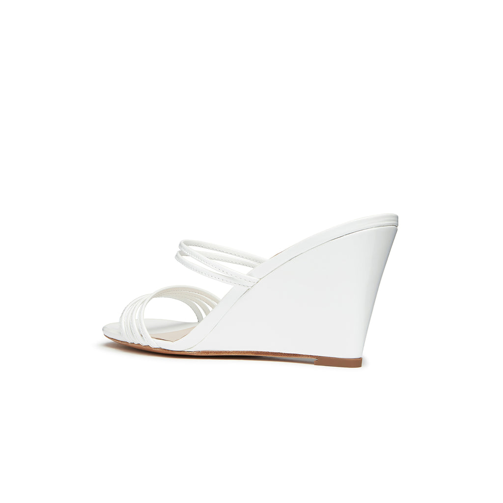 Kalda Simon Wedge White back
