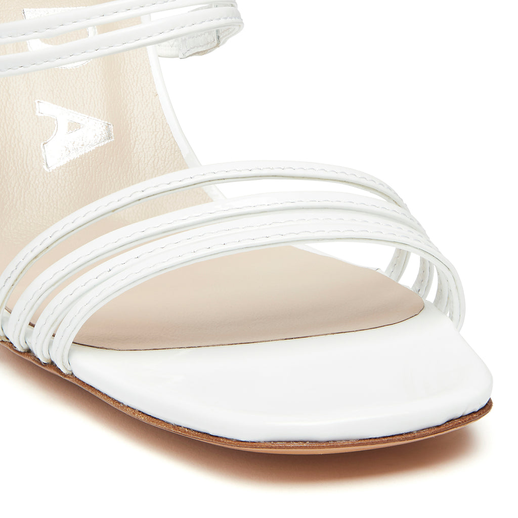 Kalda Simon Wedge White detail