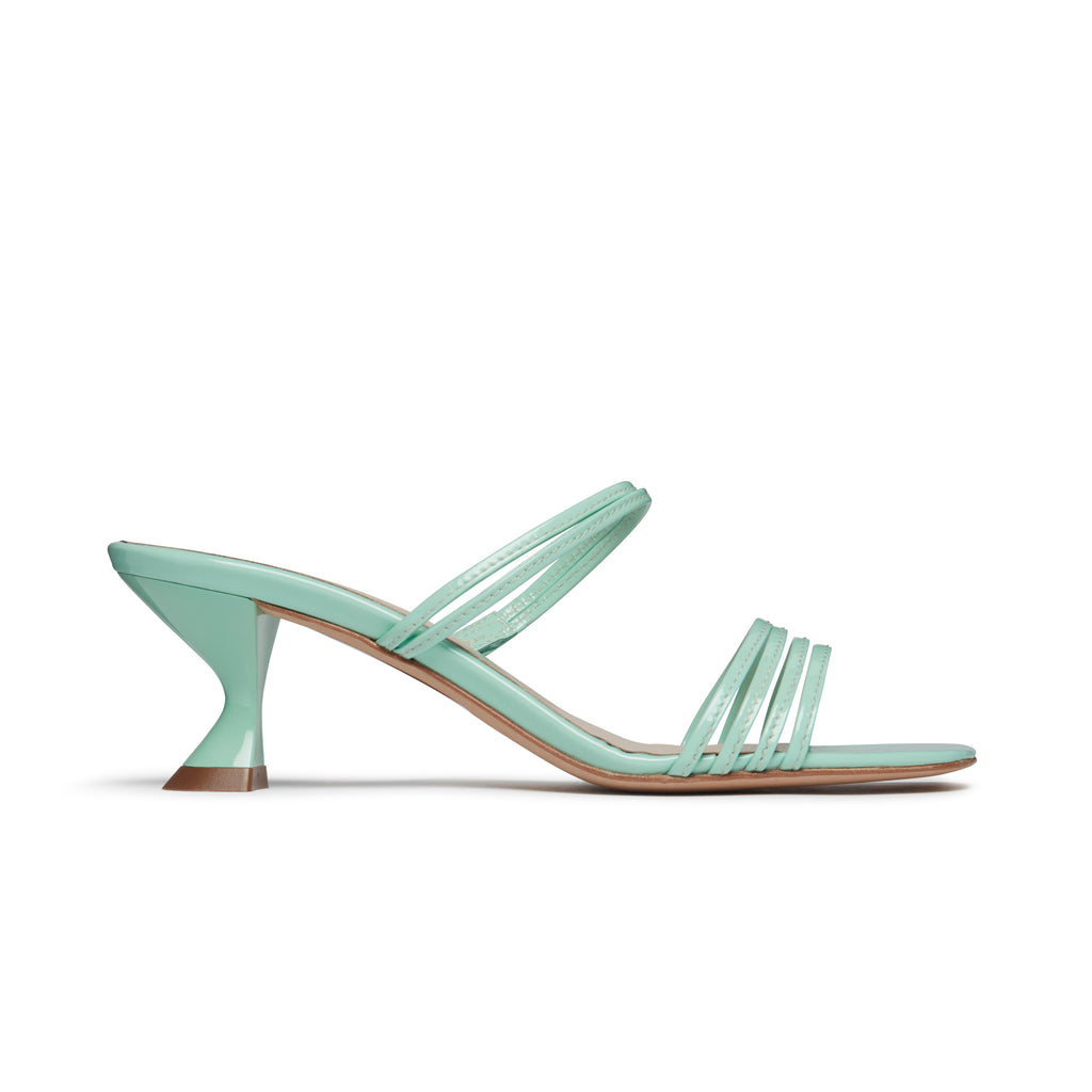 Simon Aqua Sandal Side