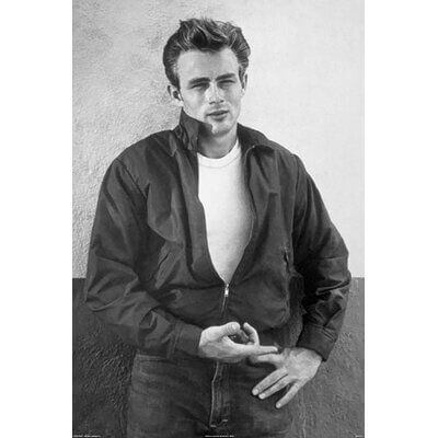 James Dean au look rock simple mais terriblement efficace