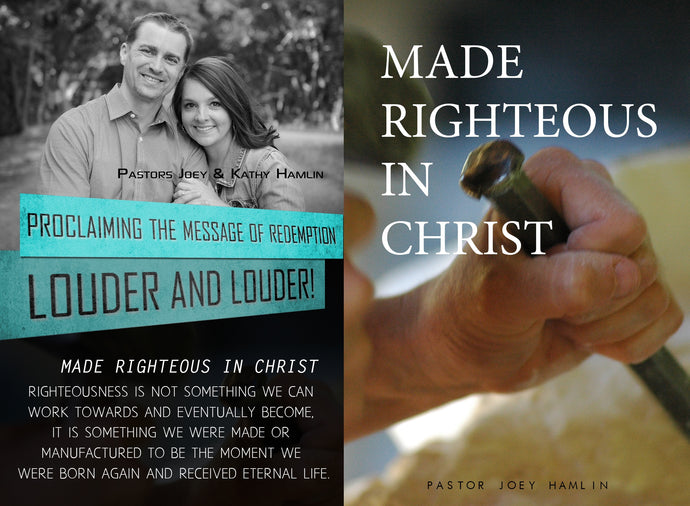 Made Righteous in Christ - mini book