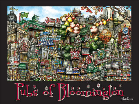 Pubs of Bloomington Poster