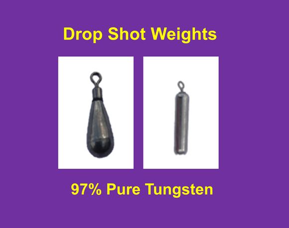 Tungsten Drop Shot Weight