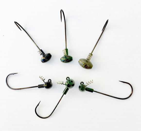 Hammer Shake Jig Head Queen Tackle | BigFishOn.com