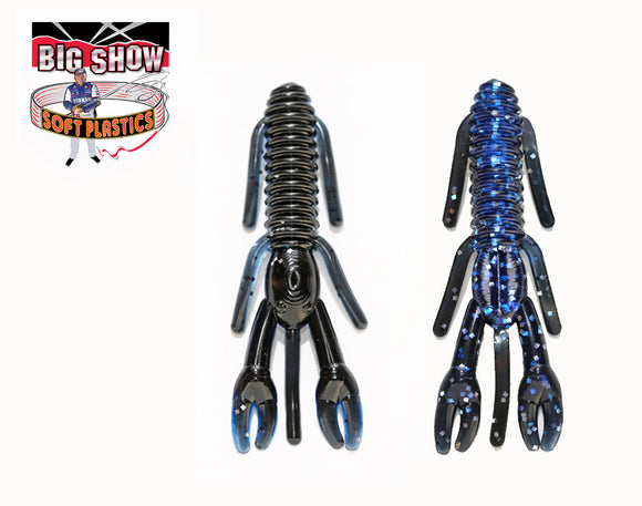 Black Blue Silver Flake | Punch Bug Stanford Baits | Terry