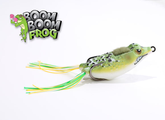Bull Frog | Boom Boom Poppin' Frog Stanford Baits | BigFishOn.com