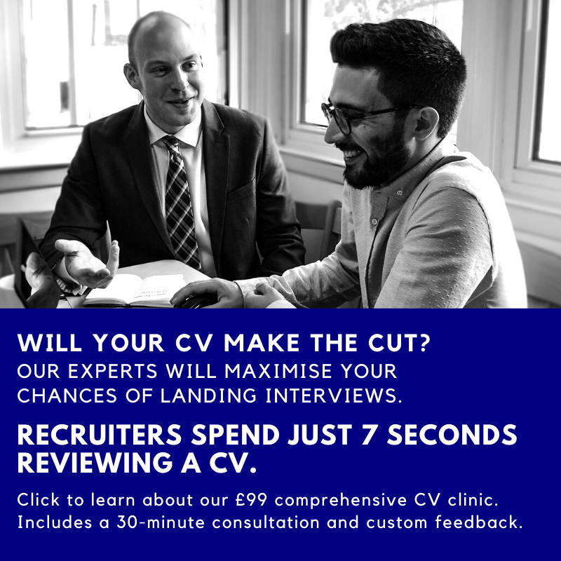 CV Pilots CV Clinic - CV Review Service