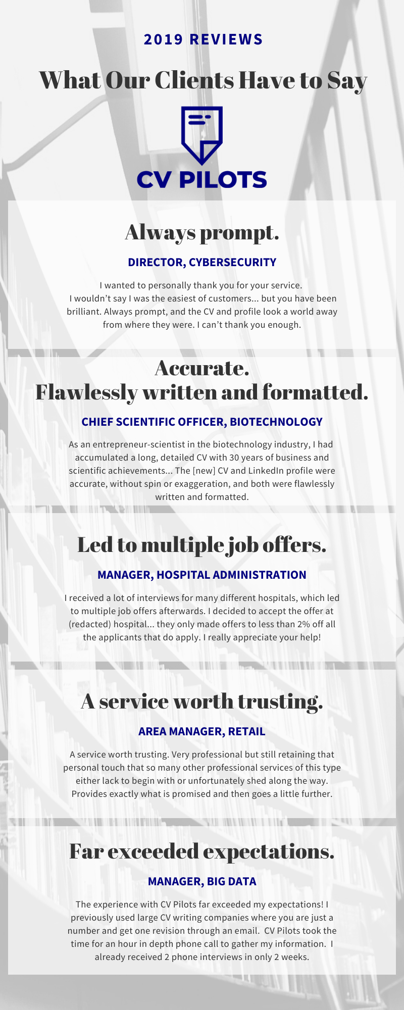Cv writing service reviews