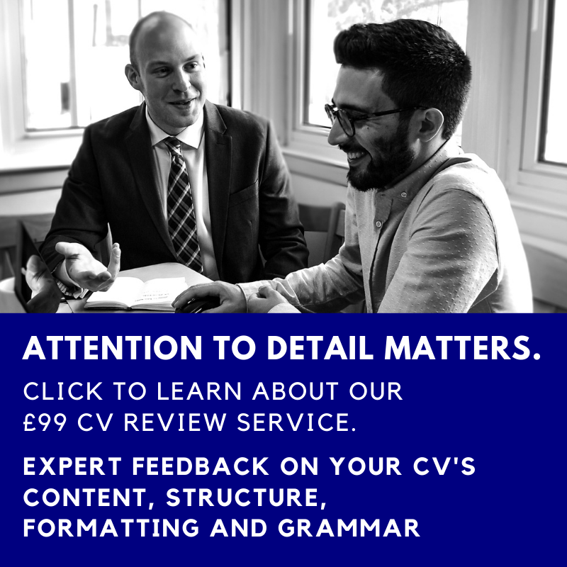Professional CV Review Service