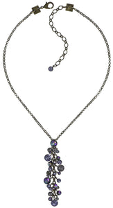 Waterfall Necklace - Lilac