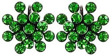 Load image into Gallery viewer, Magic Fireball Earrings - Green Fern