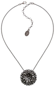 Inside Out Necklace - Black