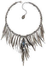 Load image into Gallery viewer, Global Glam Necklace - Blue Denim